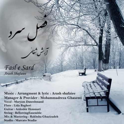 دانلود موزیک جدید آرش شفائی فصل سرد